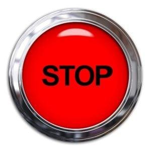 stop arrêt