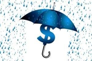risque pluie parapluie